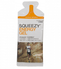 SQUEEZY ENERGY GEL лимон, 33 г