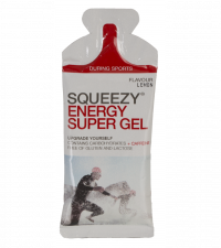 SQUEEZY Гель энергетический ENERGY SUPER GEL кола+кофеин, 33 г