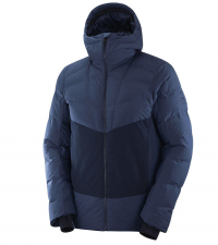SALOMON Куртка мужская SNOWSHELTER Dark Denim / Night Sky