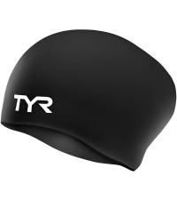 TYR Шапочка для плавания Long Hair Wrinkle-Free Silicone Cap