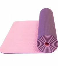 LIVEUP Коврик для йоги TPE DEEP PURPLE-PURPLE 6 мм