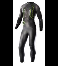 2XU Гидрокостюм мужской A:1 черный/зеленый