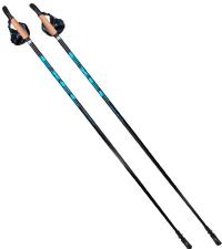 EXEL Палки для ходьбы NORDIC WALKER EVO BLACK/BLUE