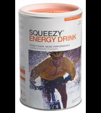 SQUEEZY Порошок в банке ENERGY DRINK апельсин, 500 г