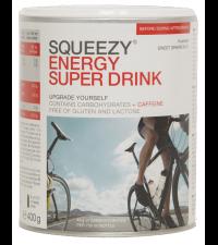 SQUEEZY Порошок в банке ENERGY SUPER DRINK грейпфрут, 400 г