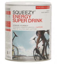 SQUEEZY Напиток изотонический ENERGYSUPERDRINKгрейпфрут,400г