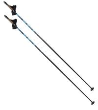 EXEL Лыжные палки CENTRA XP-45 EVO BLACK/BLUE