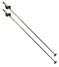 EXEL Лыжные палки SPIRIT PRO JR BLACK/ORANGE