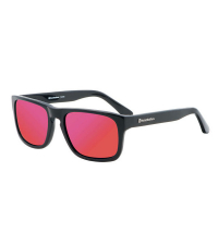 HORSEFEATHERS Солнцезащитные очки KEATON Gloss Black / Mirror Red C10