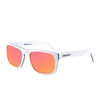 HORSEFEATHERS Солнцезащитные очки KEATON White / Mirror Red C7