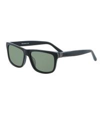 HORSEFEATHERS Солнцезащитные очки ALMOND Brushed Black / Green C1