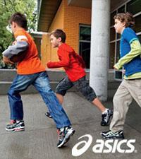 Детские кроссовки ASICS