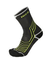 MICO Носки удлиненные ODOR ZERO X-STATIC TREK