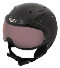 CASCO Лыжный шлем SP-6 BLACK VAUTRON VISIER