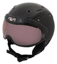 CASCO Лыжный шлем SP-6 BLACK VAUTRON VISIER