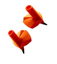 EXEL Лапки AVENGER BASKET 10 мм MAX 45 мм ORANGE