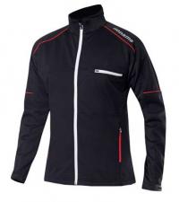 NONAME Куртка FLOW IN MOTION JACKET 18 UNISEX BLACK лыжная разминочная, черный