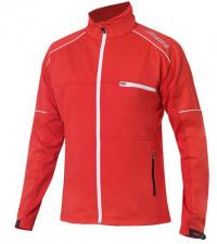 NONAME Куртка FLOW IN MOTION JACKET 18 UNISEX RED лыжная разминочная, красный