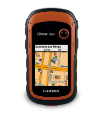 GARMIN Навигатор eTrex 20x GLONASS-GPS с картой Дороги России