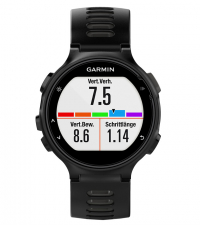 GARMIN Спортивные часы Forerunner 735XT HRM-Run черно-серые