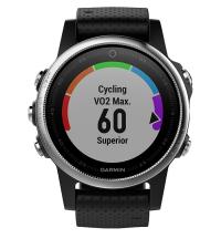GARMIN Спортивные часы с GPS Fenix 5S Black