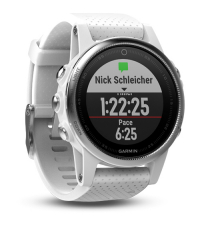 GARMIN Спортивные часы с GPS Fenix 5S Carrara White