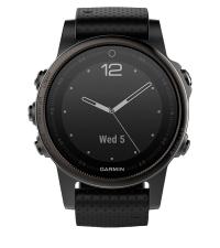 GARMIN Спортивные часы с GPS Fenix 5S Sapphire Black