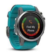 GARMIN Спортивные часы с GPS Fenix 5S Turquoise