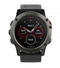 GARMIN Спортивные часы с GPS Fenix 5x Sapphire Slate Gray