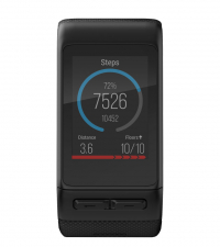 GARMIN Спортивные часы Vivoactive HR черные, большой размер