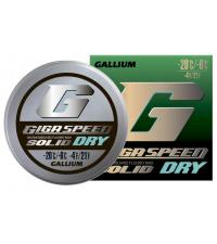 GALLIUM Фторовая спрессовка GIGA SPEED SOLID Dry