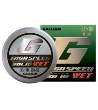 GALLIUM Фторовая спрессовка GIGA SPEED SOLID Wet