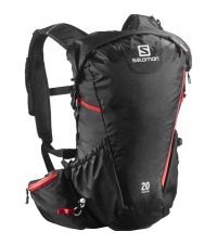 SALOMON Рюкзак  AGILE 20 AW Black / Bright Red
