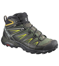 SALOMON Ботинки X ULTRA 3 MID GTX® Castor Gra/Bk