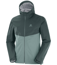 SALOMON Куртка мужская LA COTE FLEX 2.5L Green/Balsam Green