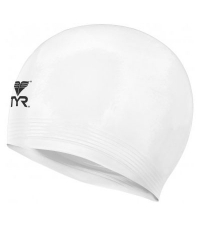 TYR Шапочка для плавания Latex Swim Cap