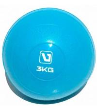 LIVEUP Медбол мягкий SOFT WEIGHT BALL 3 кг