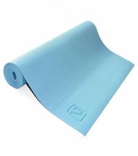 LIVEUP Коврик для йоги PVC Blue 4 мм