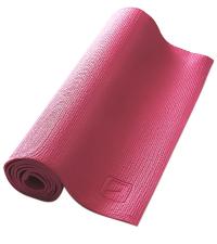 LIVEUP Мат для йоги PVC Pink 4 мм