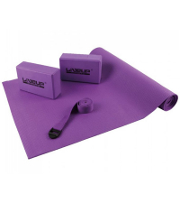 LIVEUP Набор для йоги YOGA SET Purple