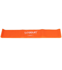 LIVEUP Фитнес-резинка LATEX LOOP LIGHT Orange 50 см