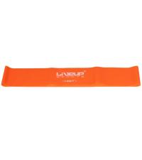 LIVEUP Фитнес-резинка LATEX LOOP LIGHT Orange 50 см