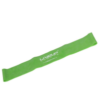 LIVEUP Фитнес-резинка LATEX LOOP MEDIUM Green 50 см