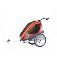 10100233 Коляска Thule Chariot Corsaire2/Корсар2, в компл. с велосцепкой, абрикосовый, 14-