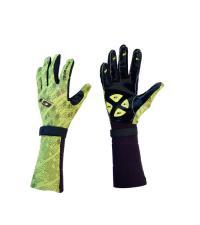 EXEL Перчатки G1 YELLOW/BLACK LYCRA