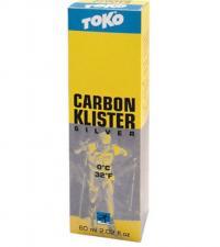 TOKO Клистер CARBON серебряный, (0), 60 мл