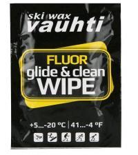 VAUHTI Салфетка-очиститель набор 15 шт. CLEAN & GLIDE WIPE