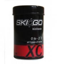 SKIGO Мазь держания XC KICKWAX RED (0...-2), 45 г