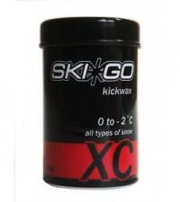 SKIGO Мазь держания XC KICKWAX RED (0...-2), 45 г.