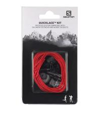 SALOMON Шнурки SHOES QUICKLACE KIT Red
